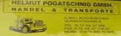 Helmut Pogatschnig Transporte und Handel